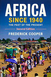 Libro: Africa since 1940
