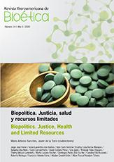 Biopolítica. Justicia, salud y recursos limitados