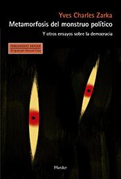 Libro. Metamorfosis del monstruo político
