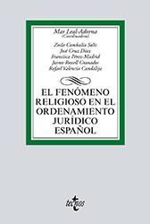 Libro: El fenómeno religioso en el ordenamiento jurídico español