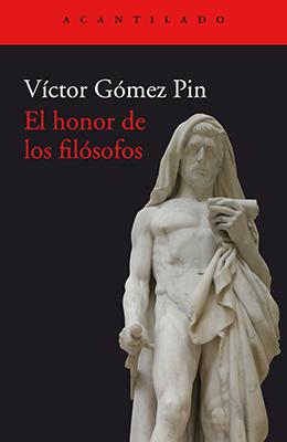 Libro:  El honor de los filósofos
