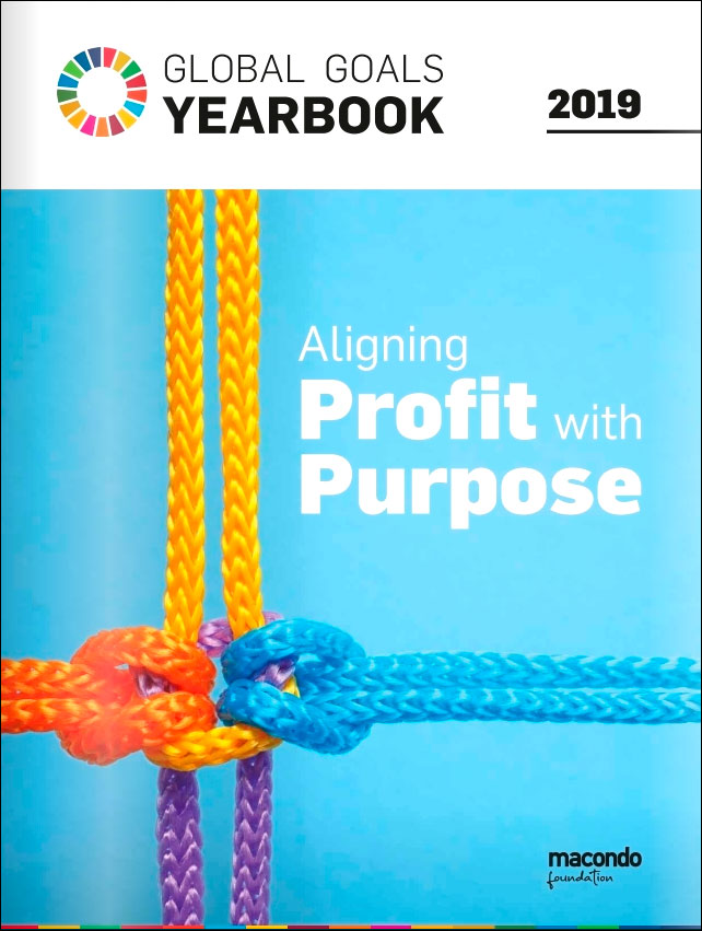 Libro: Global Goals Yearbook 2019: Aligning profit with purpose
