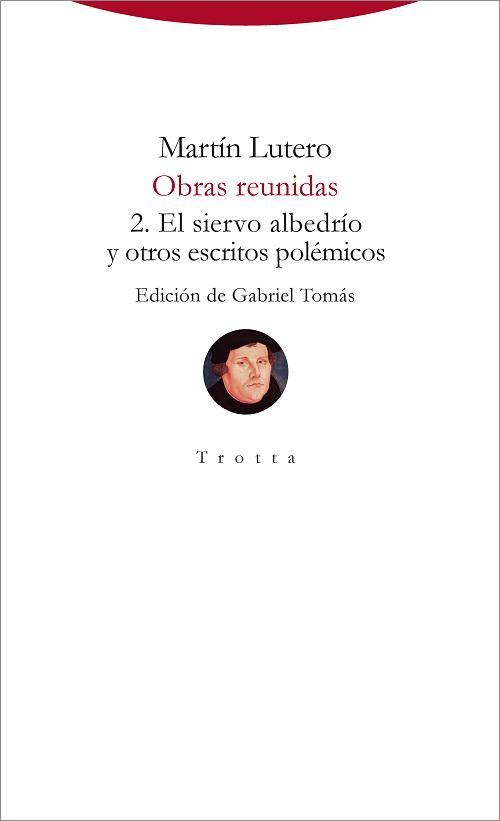 Libro. Obras reunidas (Lutero)