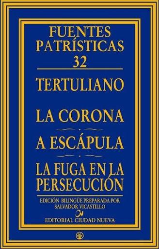 Libro. Tertuliano. La corona