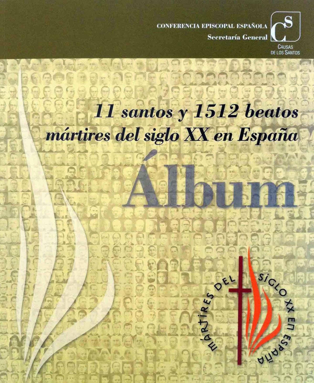 Libro: 11 santos y 1512 beatos mártires del siglo XX en España