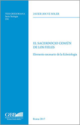 Libro: El sacerdocio común de los fieles