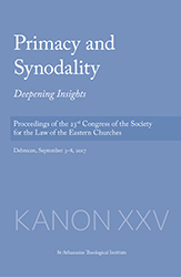 Libro: Primacy and Sinodality. Deepening Insights
