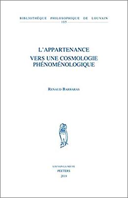 Libro: L'appartenance